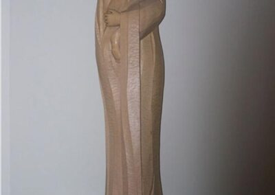 ST. CHARLES BORROMEO CHURCH Livermore, California - This is a hand carved staute of St. Catherine of Sienna that lives in St. Charles Borromeo Church in Livermore, California.